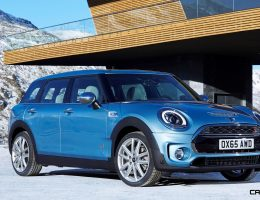 2017 MINI Clubman ALL4 Is New AWD, LWB Cooper S
