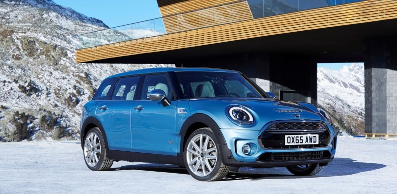 2016 MINI Clubman ALL4 Is New AWD, LWB Cooper S 66