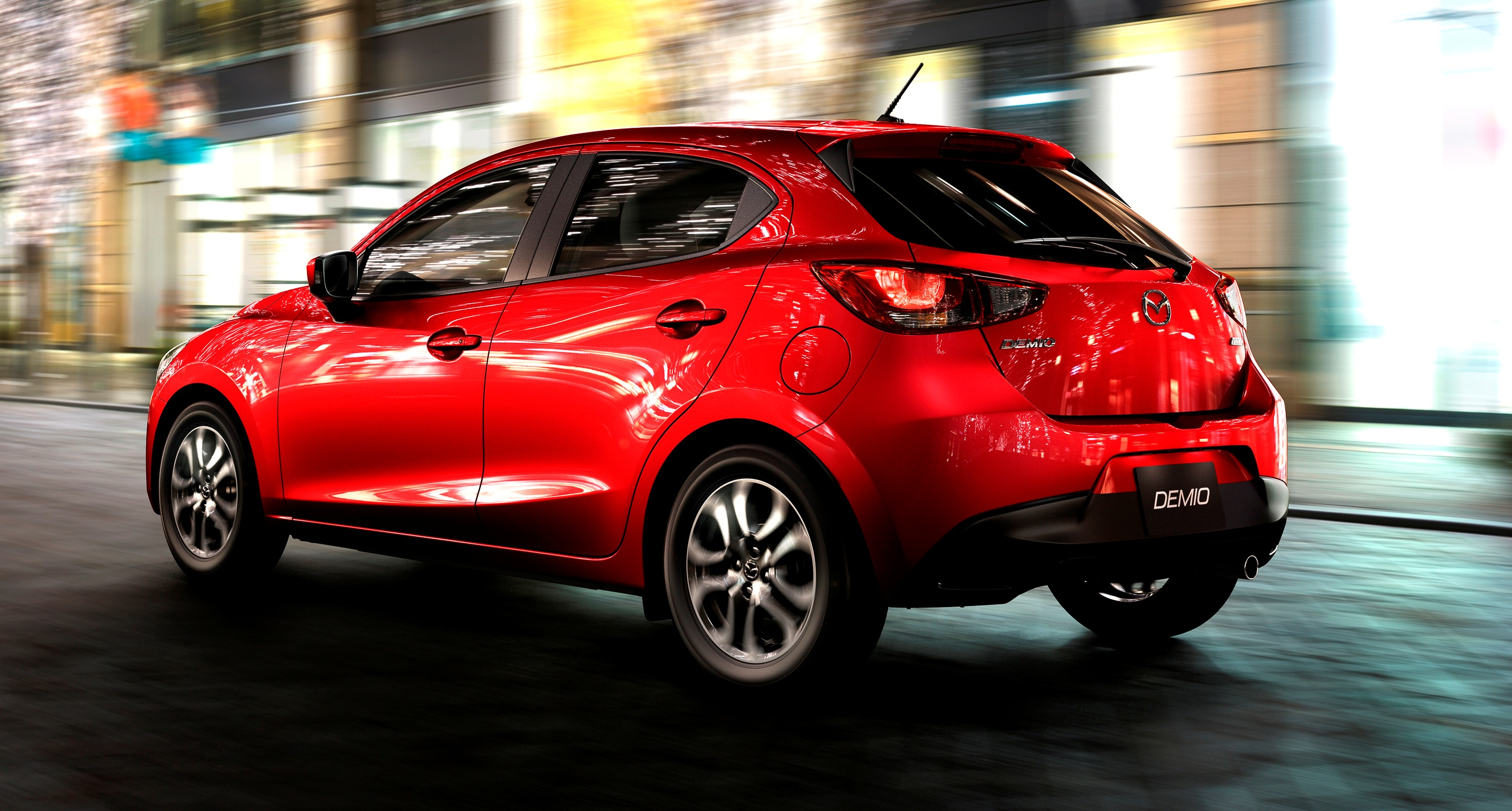2016 mazda2 first photos upmarket new grille and cabin highlight changes. Black Bedroom Furniture Sets. Home Design Ideas