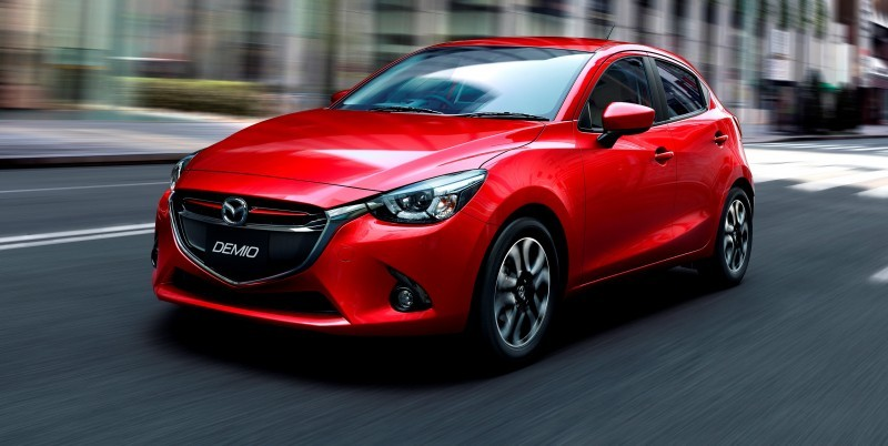 2016 Mazda2 First Photos! Upmarket New Grille and Cabin Highlight Changes 2