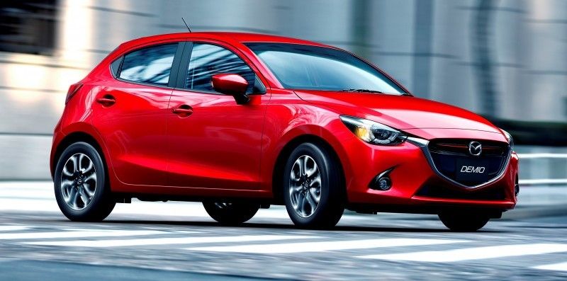 2016 Mazda2 First Photos! Upmarket New Grille and Cabin Highlight Changes 3