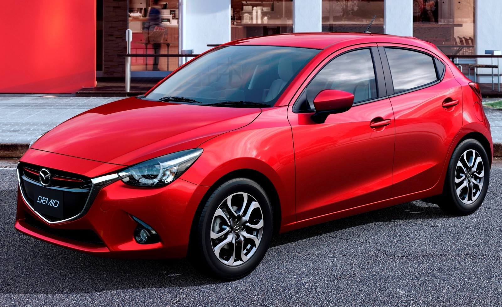 2016 Mazda2 First Photos! Upmarket New Grille and Cabin Highlight Changes 4