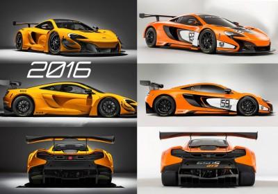 2016 McLaren 650S GT3 1-tile vs 2015 650S GT3