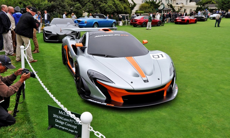 2016 McLaren P1 GTR - Pebble Beach World Debut 1