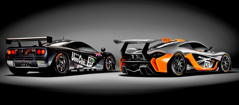 2016 McLaren P1 GTR - Pebble Beach World Debut 10