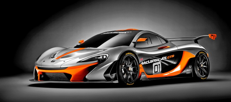 2016 McLaren P1 GTR - Pebble Beach World Debut 11