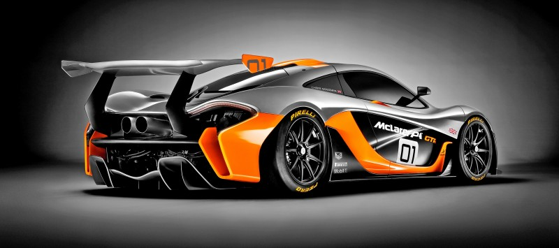 2016 McLaren P1 GTR - Pebble Beach World Debut 13