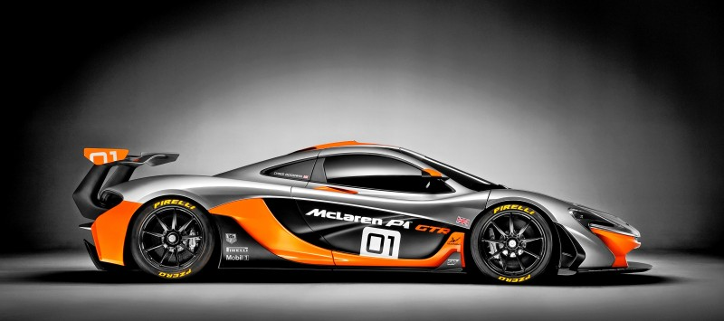 2016 McLaren P1 GTR - Pebble Beach World Debut 15