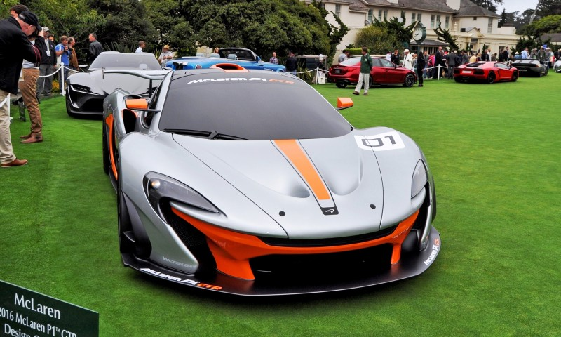 2016 McLaren P1 GTR - Pebble Beach World Debut 2