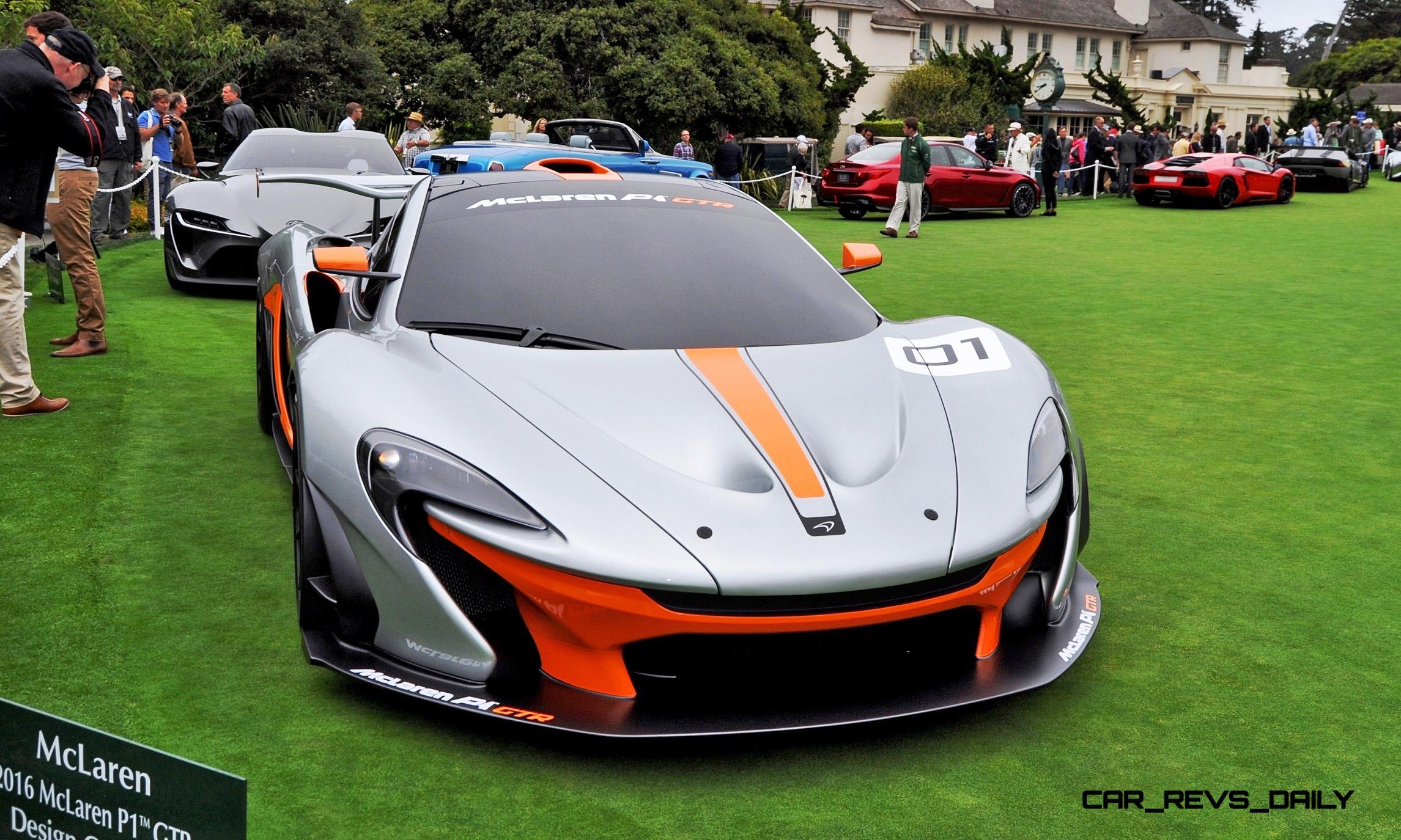 2016 McLaren P1 GTR - Pebble Beach World Debut 2