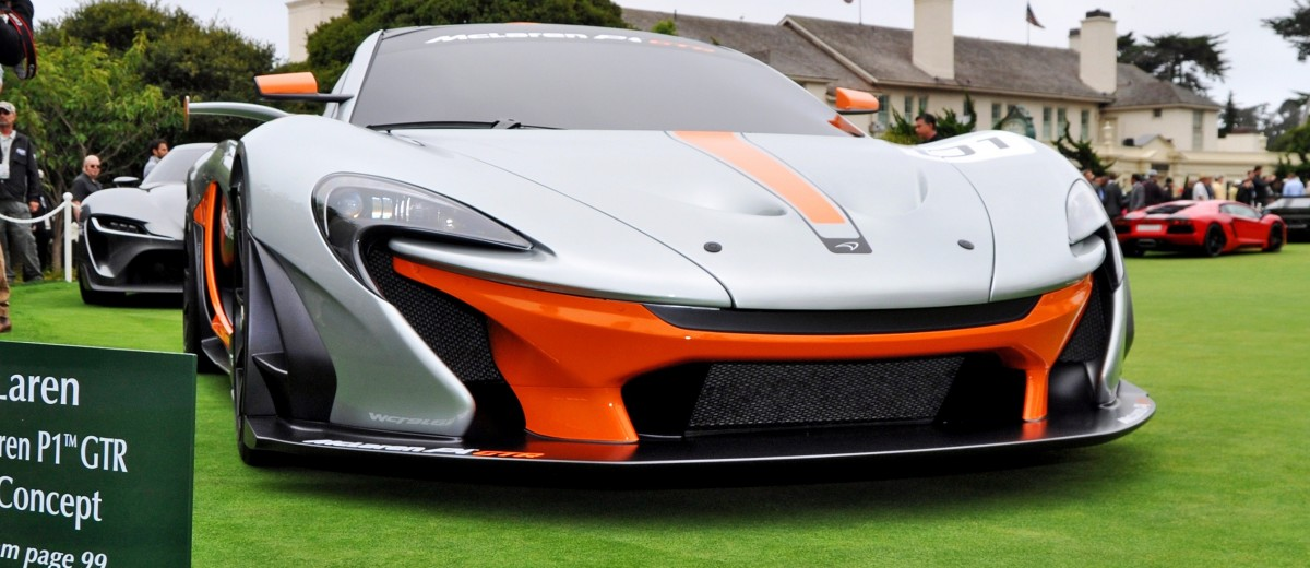 2016 McLaren P1 GTR - Pebble Beach World Debut 3