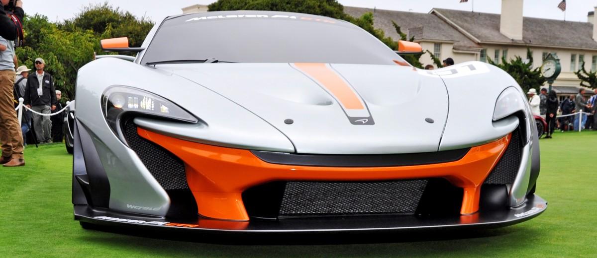 2016 McLaren P1 GTR - Pebble Beach World Debut 4
