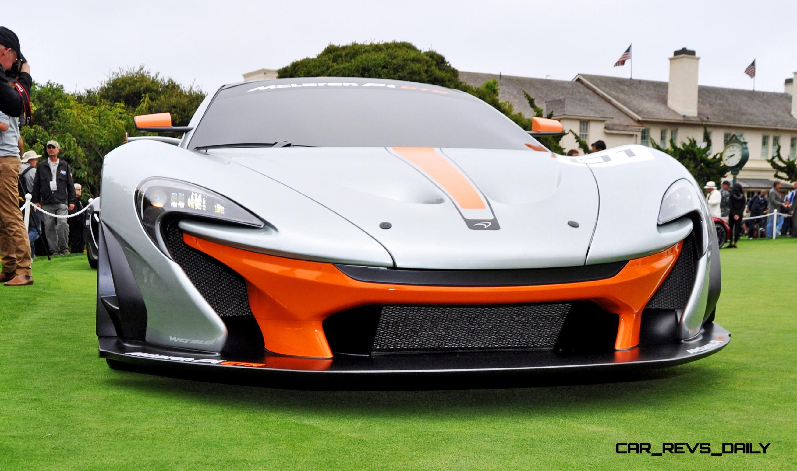 Mclaren P1 Lm >> 2016 McLaren P1 GTR - Pebble Beach World Debut in 75 High ...