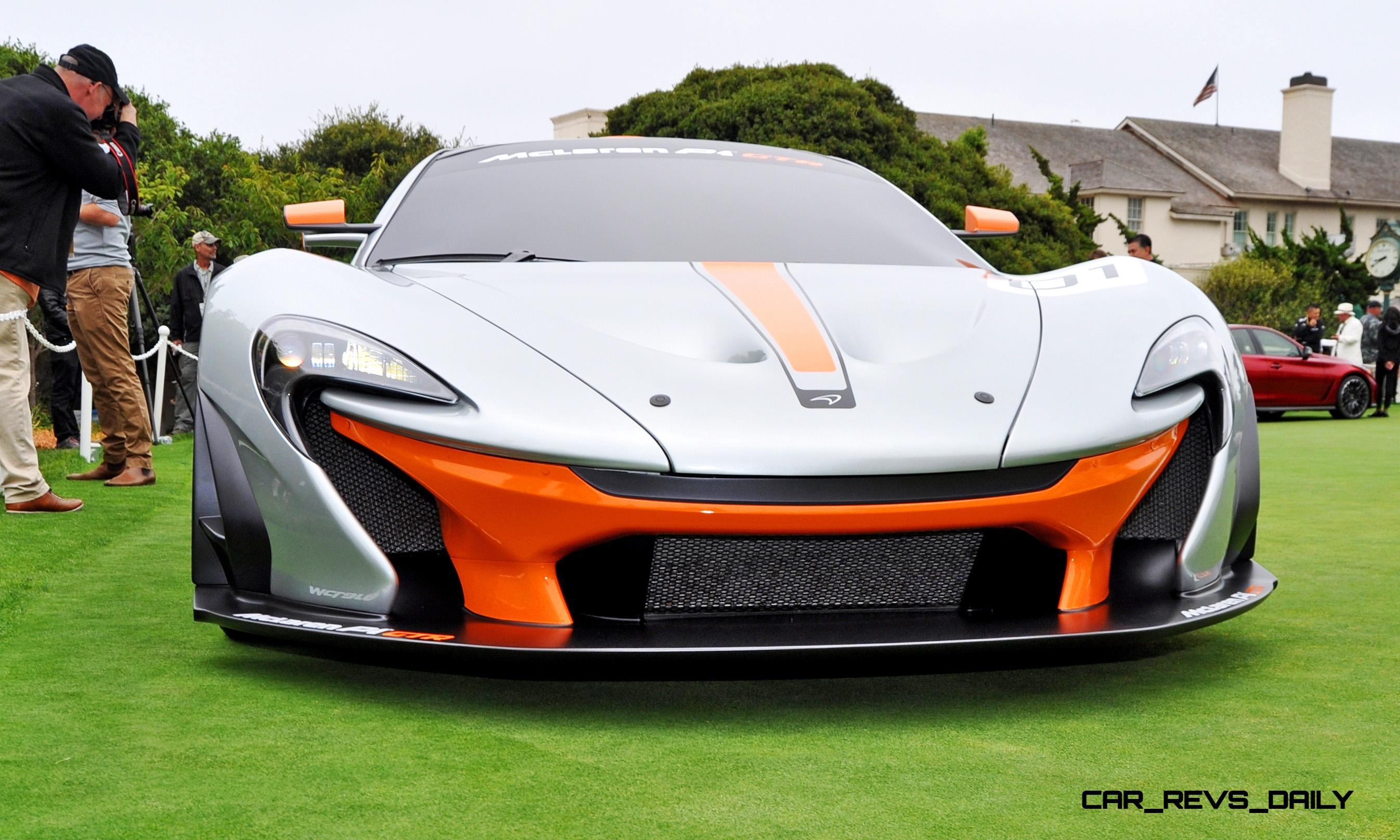 2016 McLaren P1 GTR - Pebble Beach World Debut 5