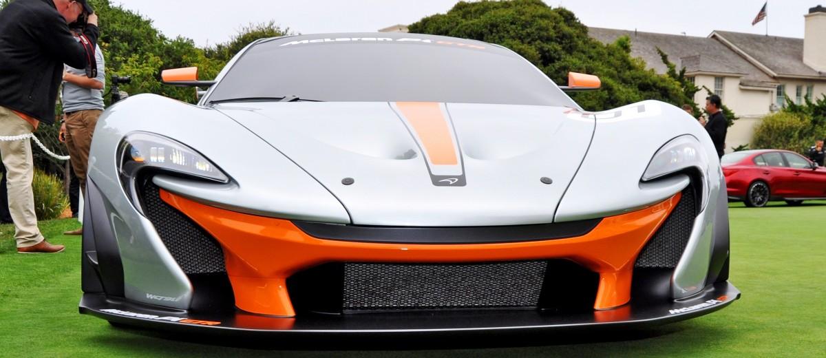 2016 McLaren P1 GTR - Pebble Beach World Debut 6
