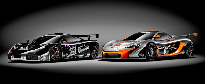 2016 McLaren P1 GTR - Pebble Beach World Debut 9