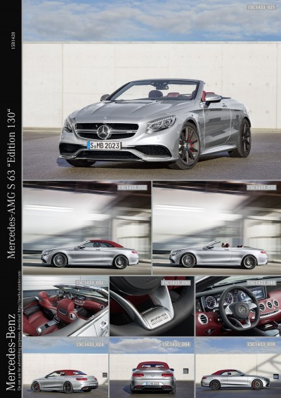"""Mercedes-AMG S 63 """"Edition 130"""""""
