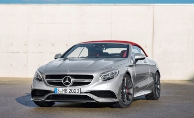 2016 Mercedes-AMG S63 4MATIC Cabriolet Edition 130 12
