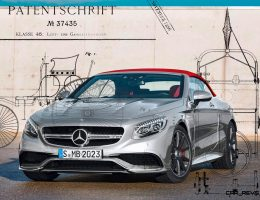 3.7s, 585HP 2016 Mercedes-AMG S63 4Matic Cabriolet Edition 130 Is Ultimate Patent Wagen!