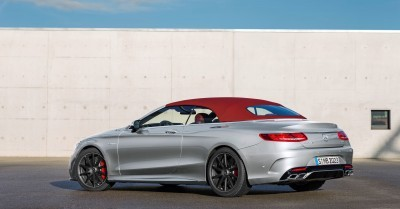 2016 Mercedes-AMG S63 4MATIC Cabriolet Edition 130 14