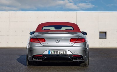 2016 Mercedes-AMG S63 4MATIC Cabriolet Edition 130 5