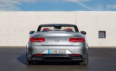 2016 Mercedes-AMG S63 4MATIC Cabriolet Edition 130 6