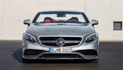 2016 Mercedes-AMG S63 4MATIC Cabriolet Edition 130 7