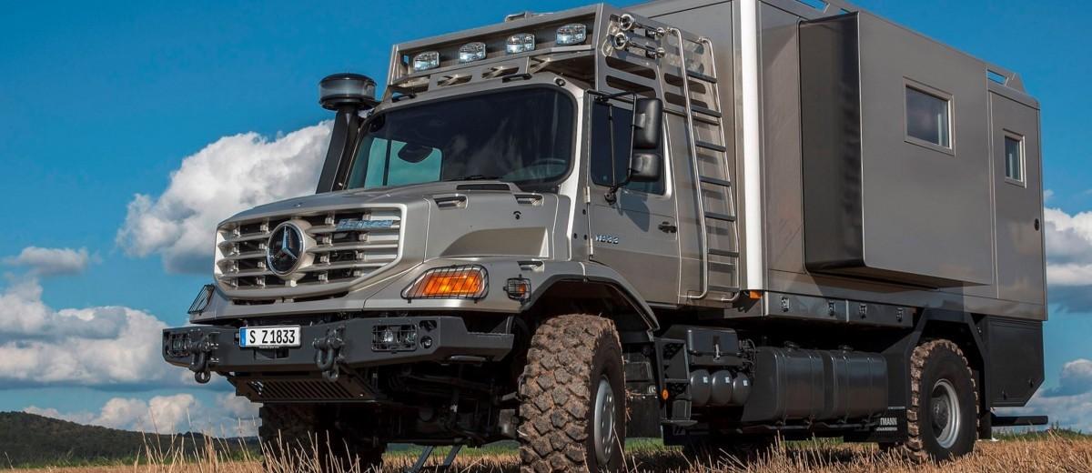 2016 mercedes benz zetros next gen heavy hauler combines 6x6 grip