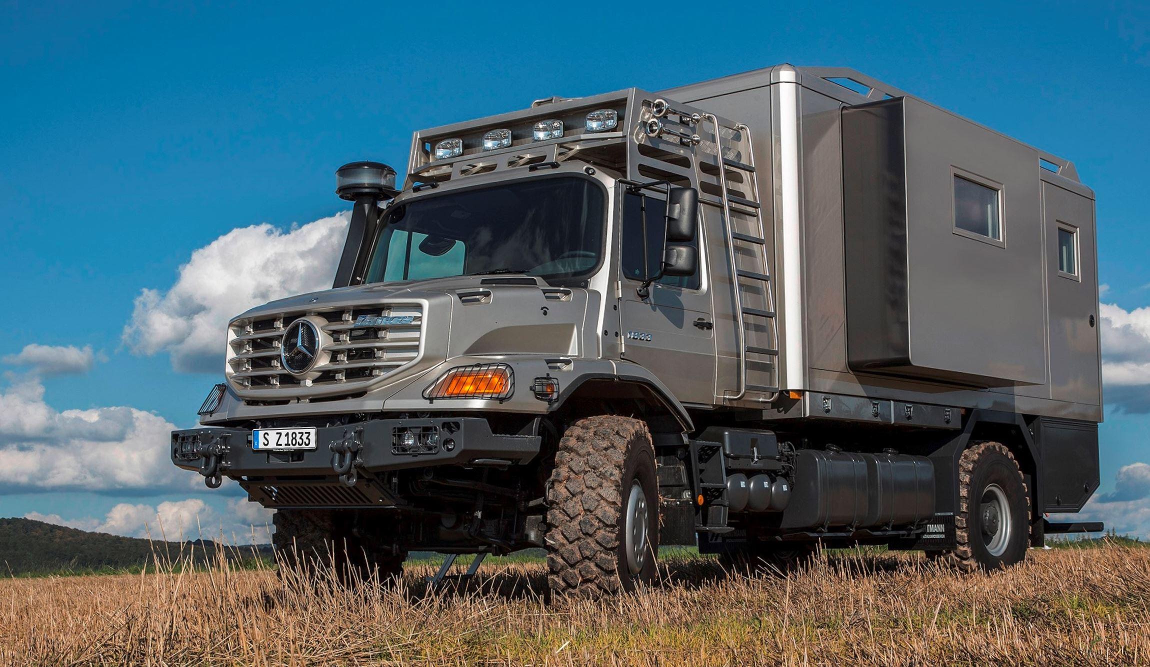 Rv Mercedes >> 2016 Mercedes-Benz ZETROS - Next-Gen Heavy Hauler Combines 6x6 Grip, 110-Ton Max GVWR