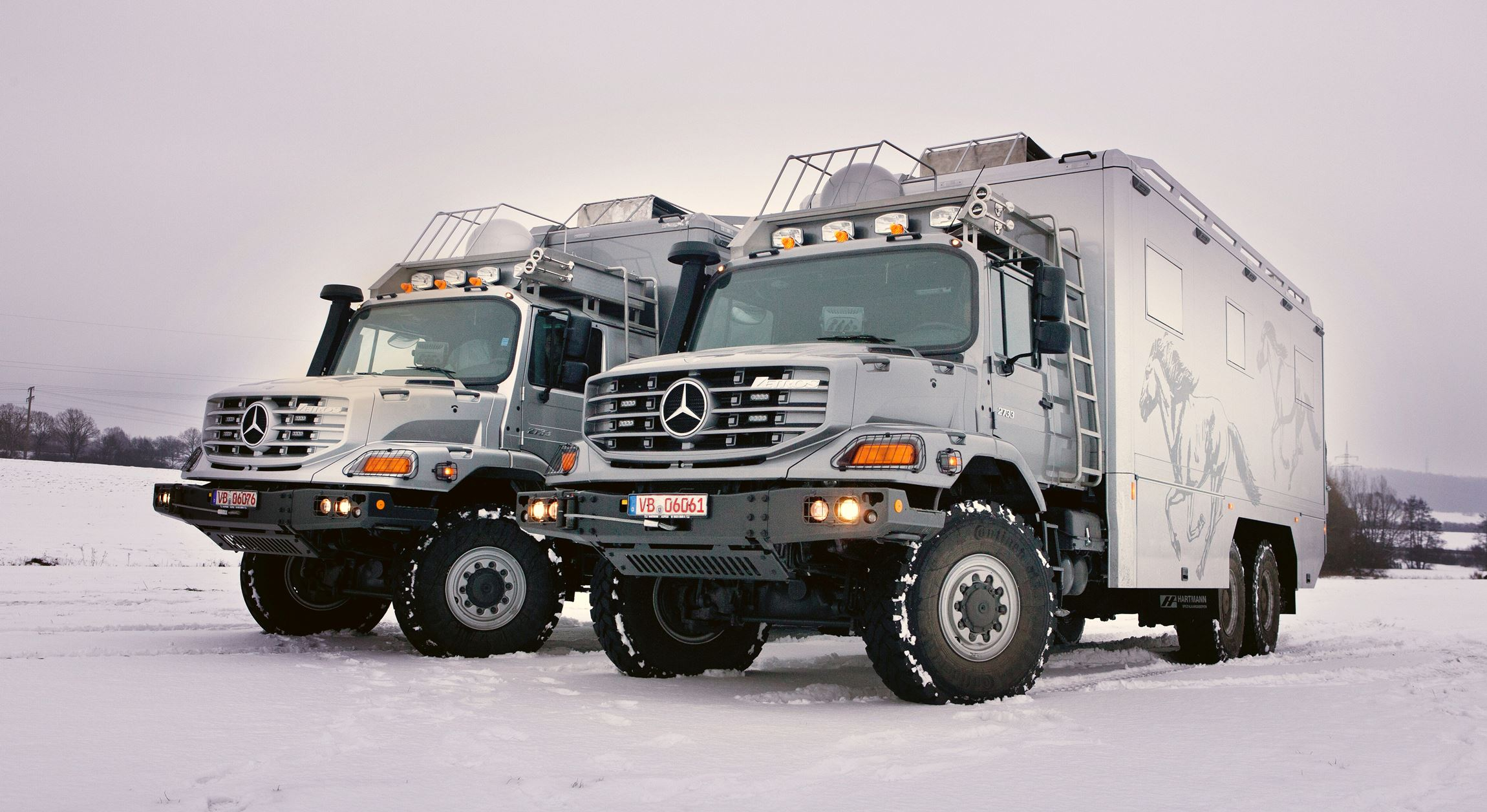 2016 mercedes benz zetros next gen heavy hauler combines for Mercedes benz recreational vehicles