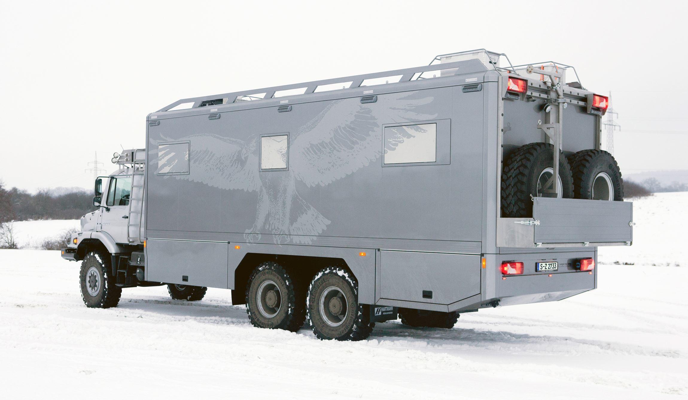 2016 mercedes benz zetros next gen heavy hauler combines for Mobile mercedes benz