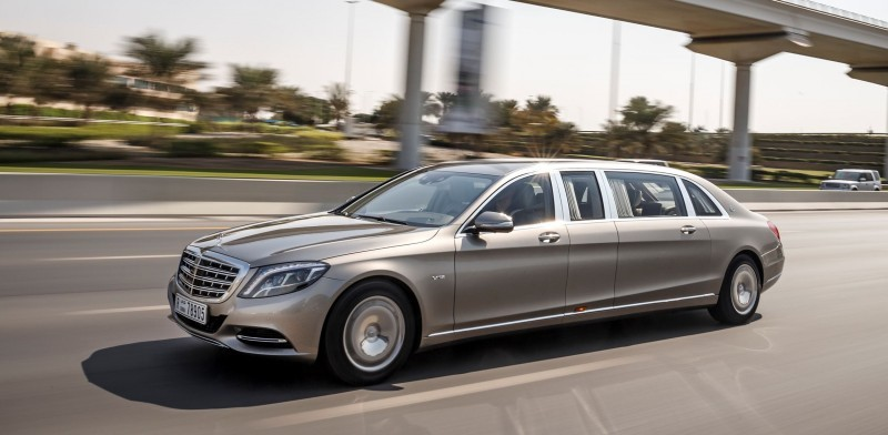 2016 Mercedes-Maybach PULLMAN Limo 10