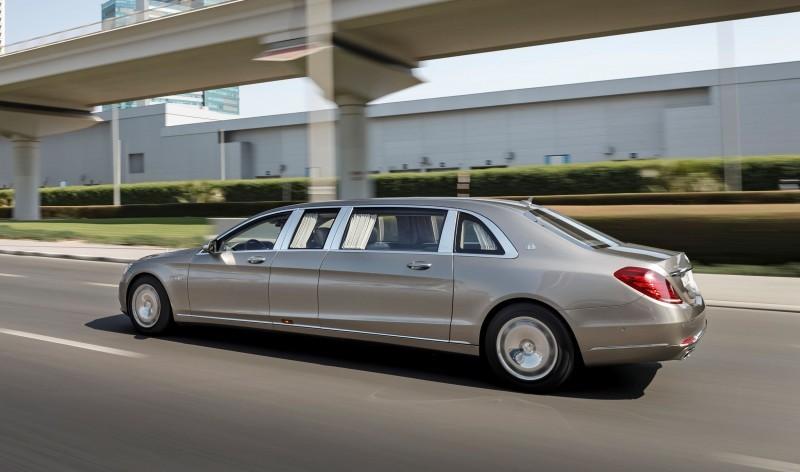 2016 Mercedes-Maybach PULLMAN Limo 11