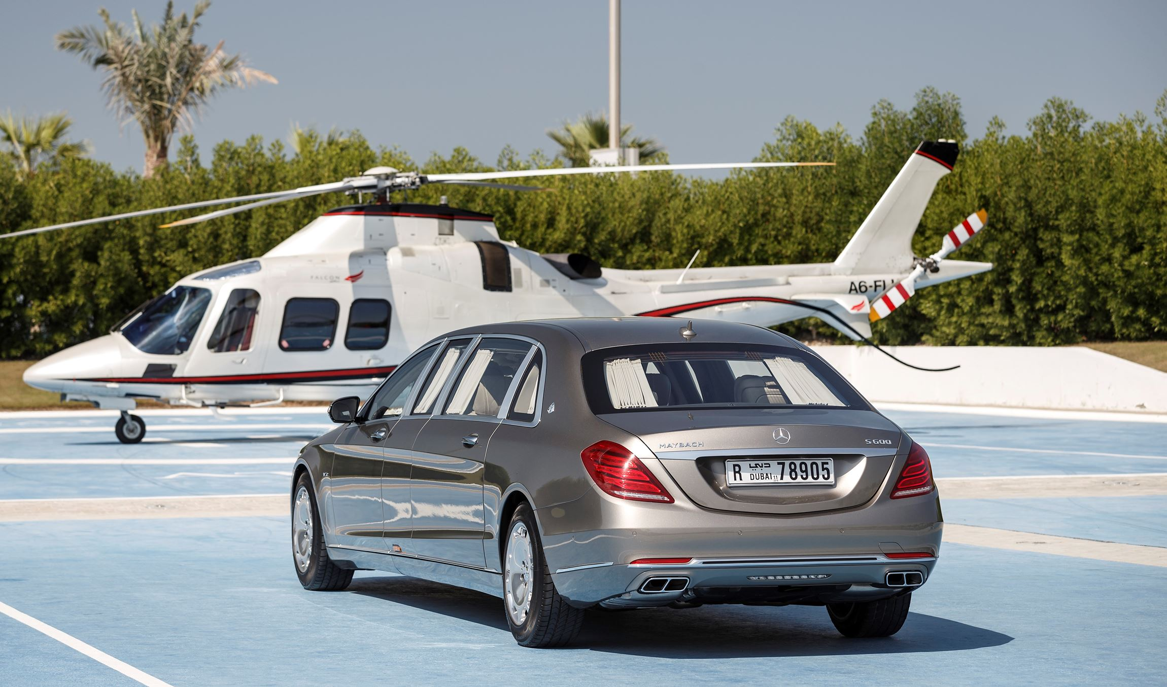 2015 Mercedes Maybach PULLMAN