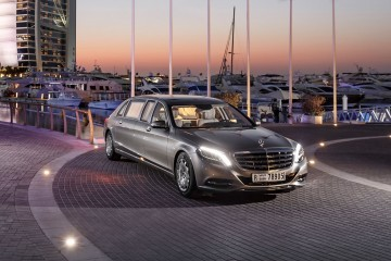 2016 Mercedes-Maybach PULLMAN Limo 2