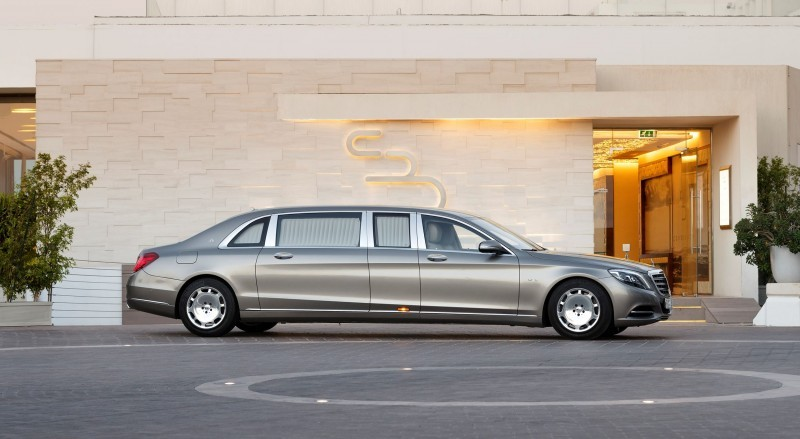 2016 Mercedes-Maybach PULLMAN Limo 3