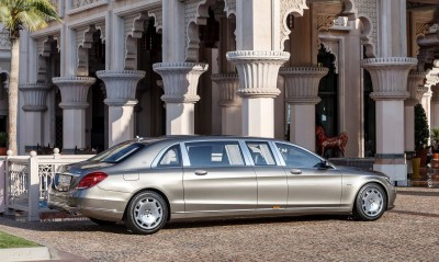 2016 Mercedes-Maybach PULLMAN Limo 6