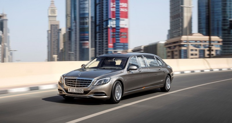 2016 Mercedes-Maybach PULLMAN Limo 8