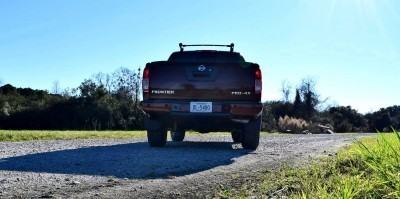 2016 Nissan FRONTIER Pro-4X V6 AWD 20