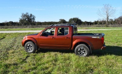 2016 Nissan FRONTIER Pro-4X V6 AWD 48