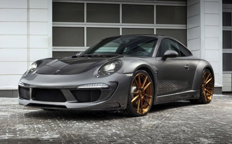 2016 Porsche 911 C4S by TopCar 1