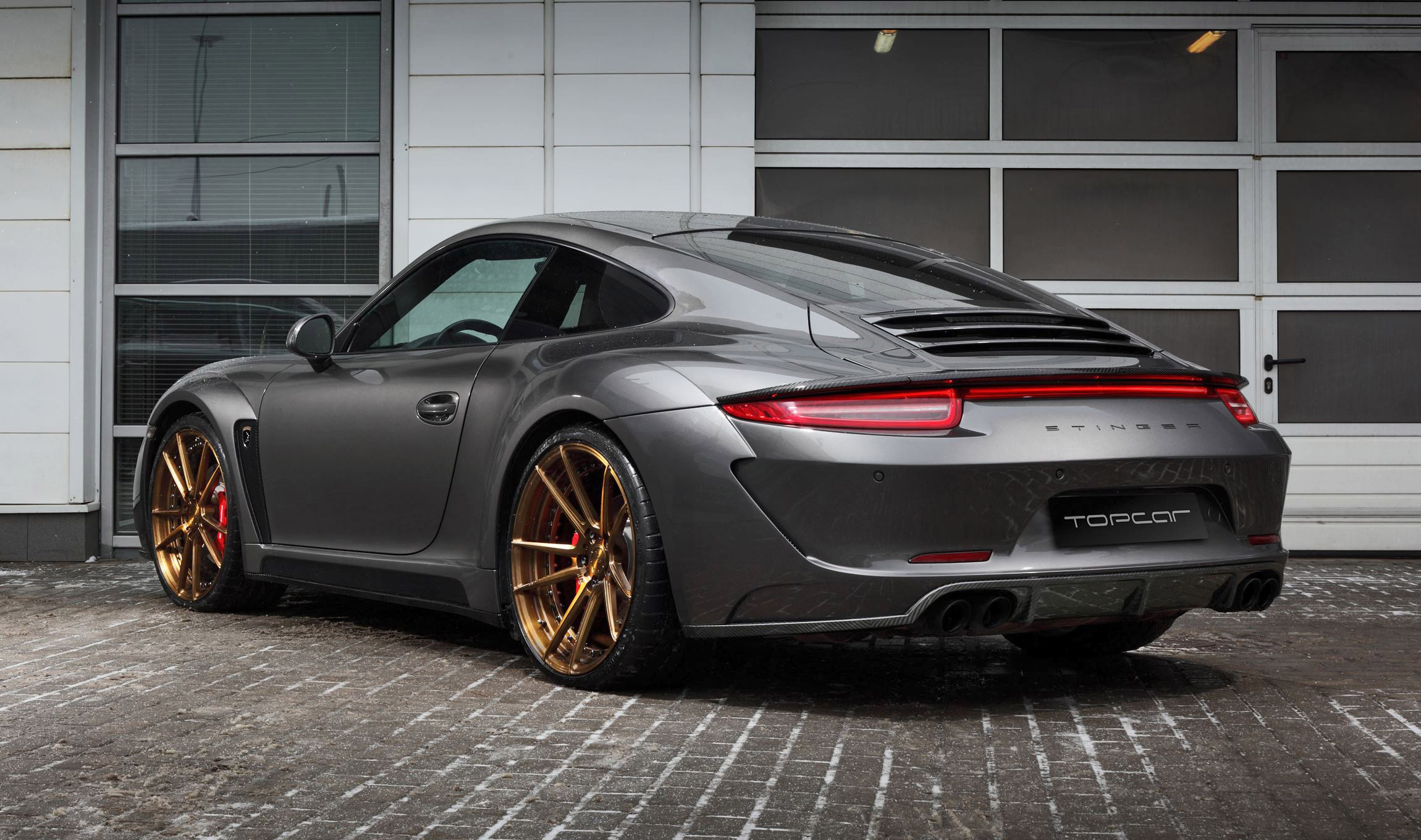2016 Porsche 911 C4s By Topcar Makes Pre Geneva Debut