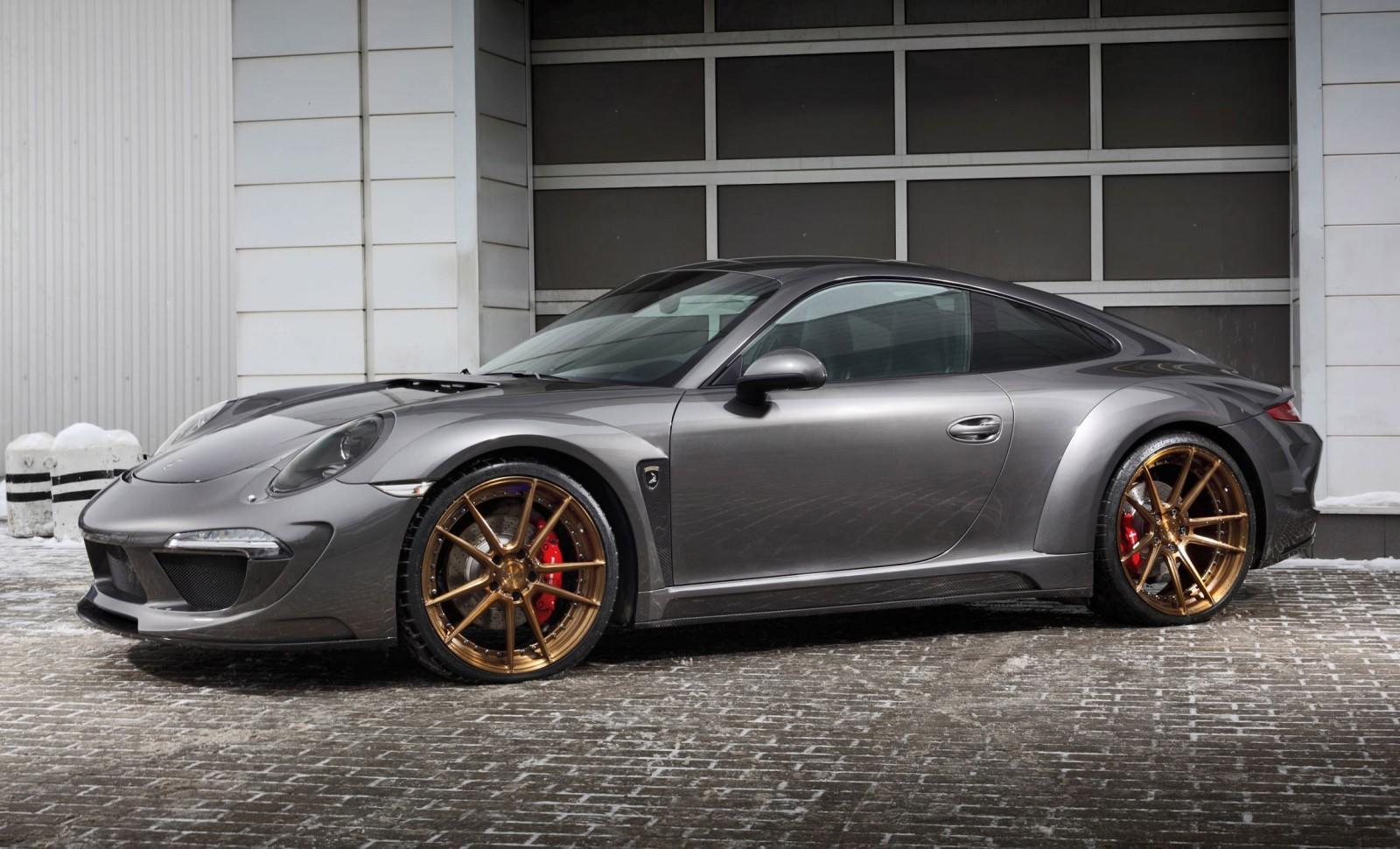 2016 Porsche 911 C4S By TopCar Makes Pre Geneva Debut