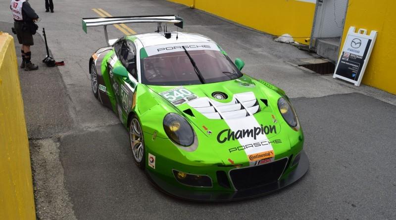 2016 Porsche 911 GT3R Daytona Champion Racing 11