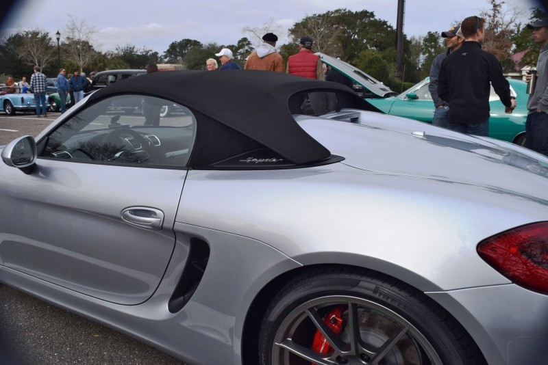 2016 Porsche BOXSTER SPYDER 28