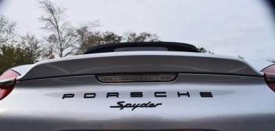 2016 Porsche BOXSTER SPYDER 31