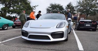 2016 Porsche Boxster SPYDER Silver 13