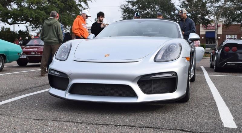 2016 Porsche Boxster SPYDER Silver 14