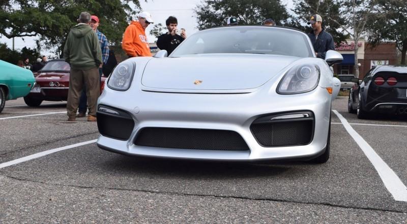 2016 Porsche Boxster SPYDER Silver 15