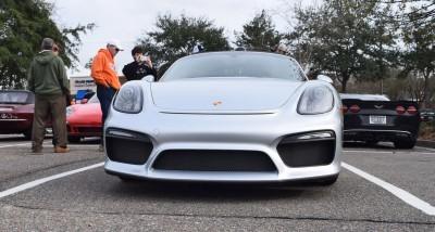 2016 Porsche Boxster SPYDER Silver 16